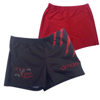 panthers netball shorts